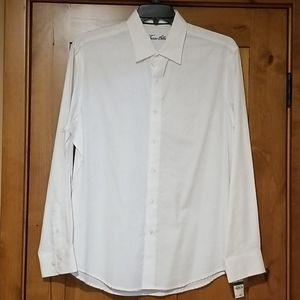 Tasso Elba NWT Men's White Dress Shirt